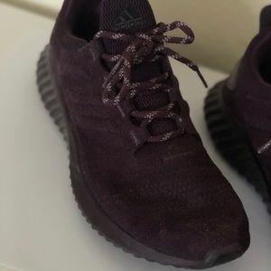 adidas Shoes - Adidas Bounce Dark Purple Suede Sneakers